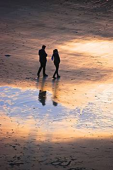 Walk on the Beach by Eric Tressler