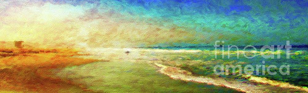 On The Beach by Jerome Stumphauzer