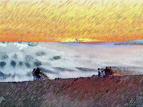 Ruth Edward Anderson - Walk on the Beach
