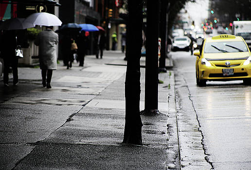 Walk Or Cab by Empty Wall