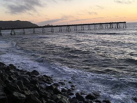 Walk the Pier by Marge Healy