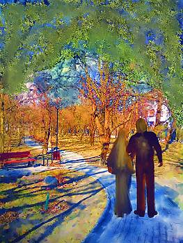 Walk through the park-I by Morgana Blackcat
