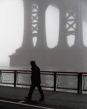 Walk thru the fog... by Anthony Fields