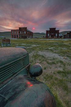 Walker Fire Sunset in Bodie by Jeff Sullivan
