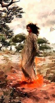 Walking Across Coals by Mario Carini