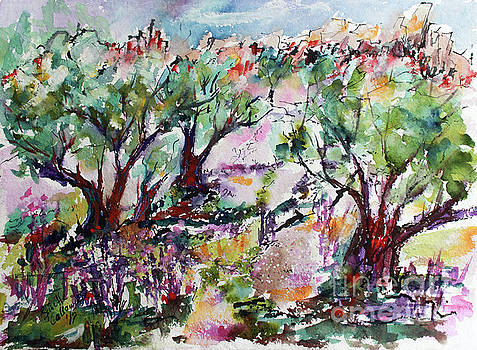 Ginette Callaway - Walking among the Olive Trees
