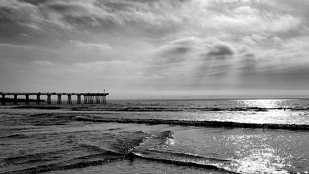 Walking by Hermosa by Michael Hope