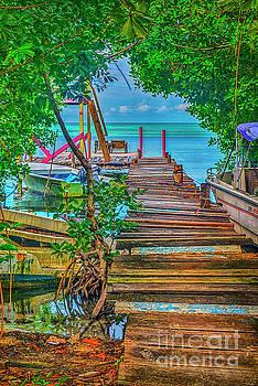 Walking by the Dock of the Bay by David Zanzinger