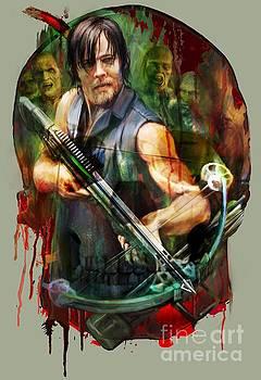 Walking Dead Mask by Rob Corsetti