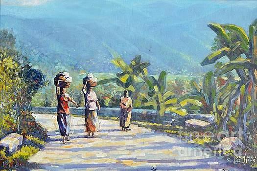 Walking Home by Jeffrey Samuels