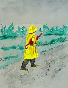 Walking in the Rain by Scott Manning