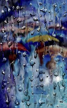 Walking in the rainfall by Darren Cannell