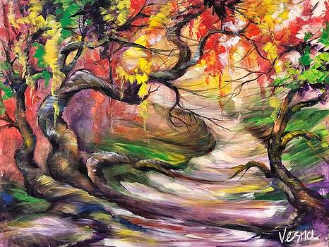 Walking In Wonder  by Vesna Delevska