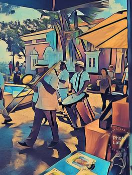 Walking Musicians  by Marina Gutierrez