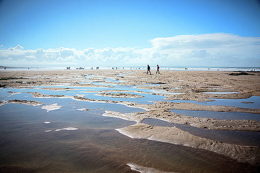 Walking on Sand by Svetlana Sewell
