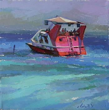 Walking on the Red Sea by Vadim Makarov
