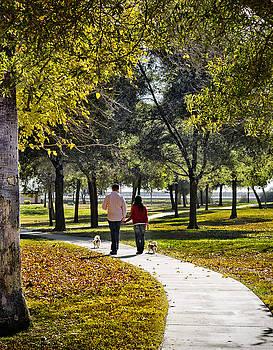 Walking Park by John Swartz