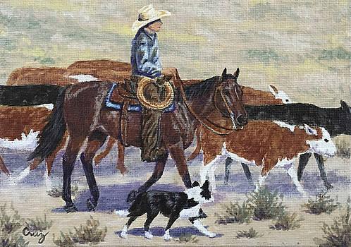 Walking the Dogies by Linda Cruz