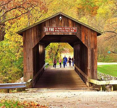 Terri Gostola - Walking the Historic Fallasburg Covered Bridge