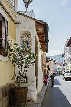 Walking through the neighborhood by Monica Aguilar Villamarin