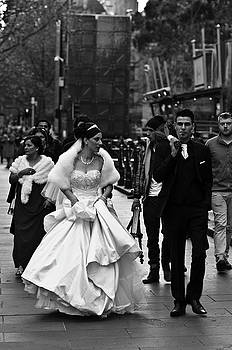 Walking to the Church by Paul Donohoe