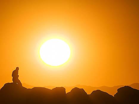 Walking To The Sun by Ron Dubin