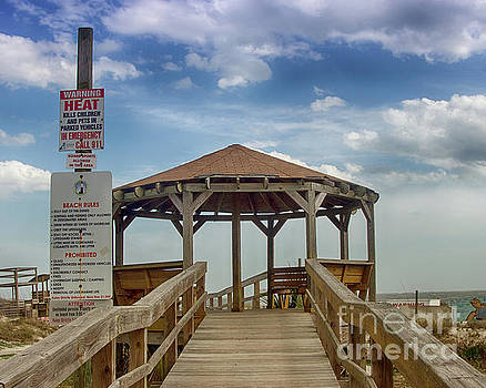 Walkway On To Tybee by Tom Gari Gallery-Three-Photography