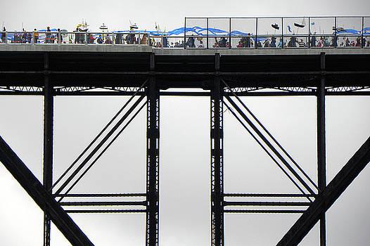 Walkway Over the Hudson 2009 Opening Day Celebration by Joseph Duba