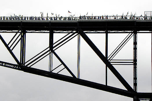 Walkway Over the Hudson No 11  Opening Day 2009 by Joseph Duba