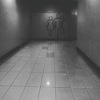Walkway towards restroom by Sirikorn Techatraibhop