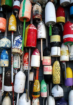 Wall of Buoys by Doug Hockman Photography