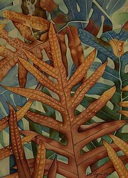 Wall of Ferns by DK Nagano