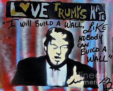 Wall Of Hate by Tony B Conscious