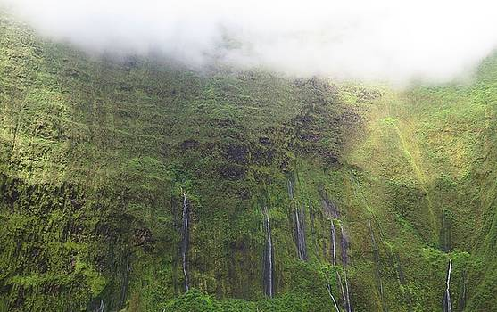Wall of Tears at Molokai Island by Stacia Blase