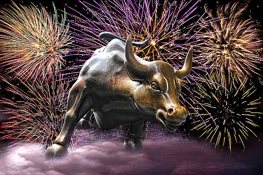 Wes and Dotty Weber - Wall Street Bull Fireworks