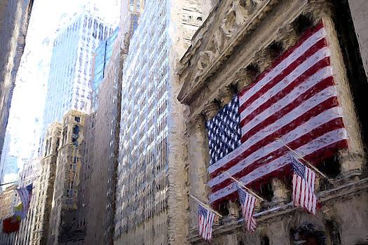 Wall Street, NYC by Matthew Ashton