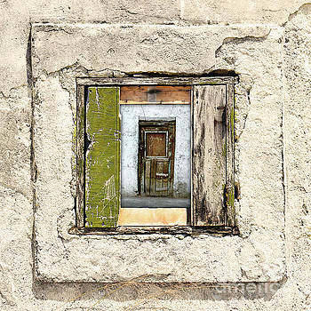 Wall, Window And Door by Phil Perkins