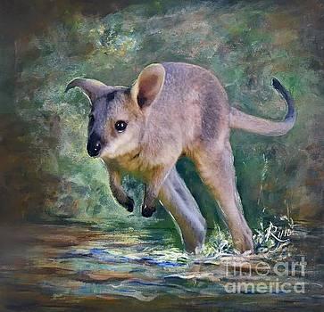 Wallaby Hop by Ryn Shell