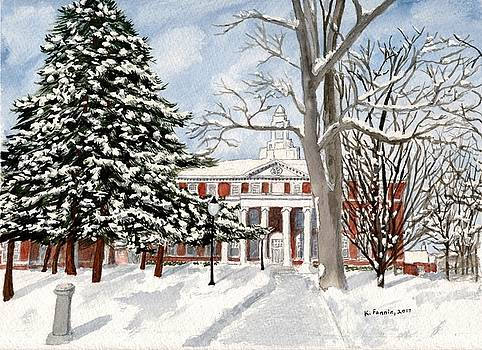 Wallace Hall by B Kathleen Fannin