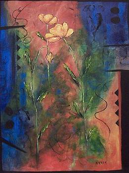 Wallflowers I    by Karen Day-Vath