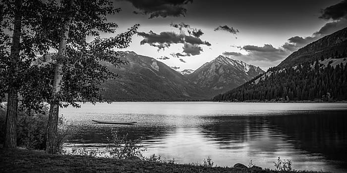 Wallowa Lake Sunset II by Don Schwartz