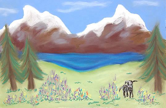 Wallowa Meadow by Christine Crosby
