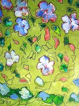 Patricia Taylor - Wallpaper Floral