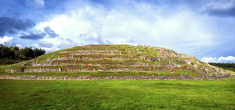 Eduardo Huelin - Walls of Sacsayhuaman Fortress Cusco Peru