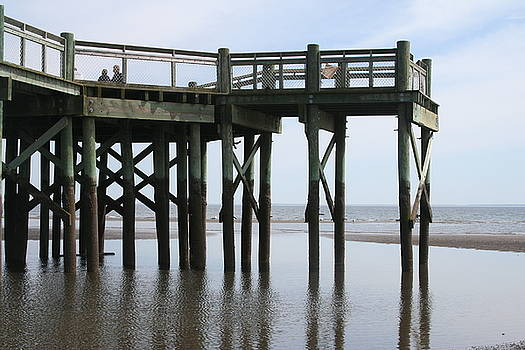 Walnut Beach Pier by Shaileen Landsberg