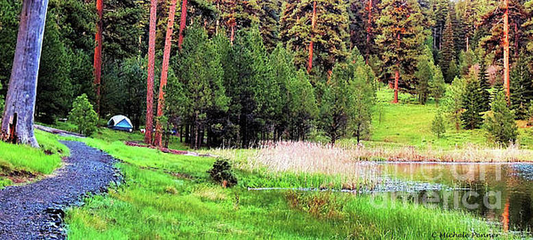 Walton Lake Campground by Michele Penner