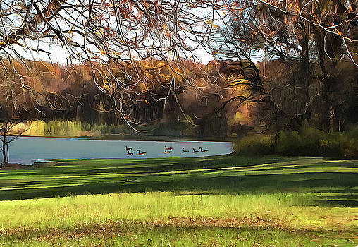 Wampum Lake by Cedric Hampton