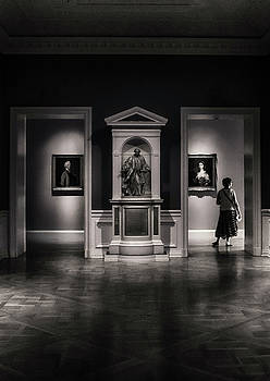 Wandering the Gallery by Joseph Hollingsworth