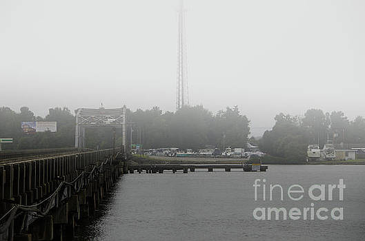 Dale Powell - Wando River Bridge Fog