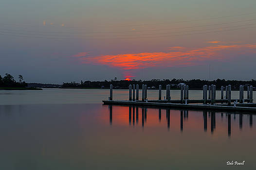 Dale Powell - Wando River Marina at Sunrise